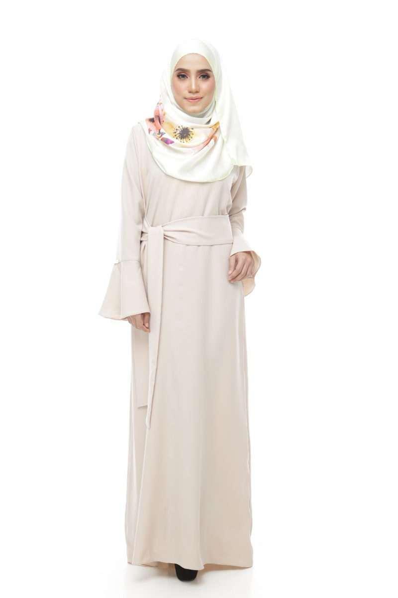 Bella Wrap Dress Pastel Lavender