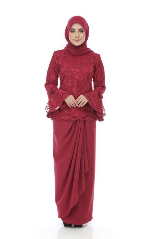 Zara Royale Red