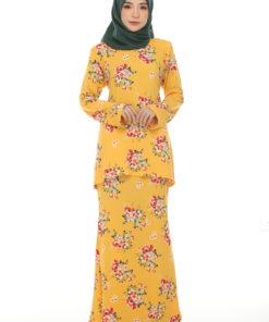 Emily Kurung Yellow